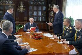 Лукашенко назначил замглавы КГБ своим помощником поМинской области ипринял еще ряд кадровых решений