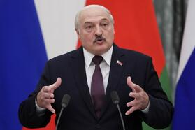 Presidents of Russia and Belarus meet for talks in Moscow