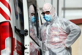 Outbreak of coronavirus disease (COVID-19) in Kyiv