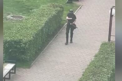 Пермский стрелок. Фото: Скриншот видео Кирилла Лыхова