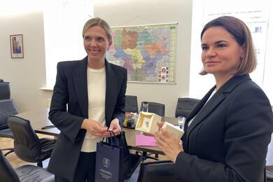 Фото: пресс-служба Тихановской