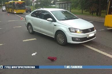В Минске Volkswagen сбил 18-летнюю девушку