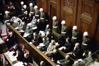 Нюрнбергский процесс. Фото: wikipedia.org