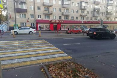 На столичной улице Якуба Коласа Land Rover сбил женщину