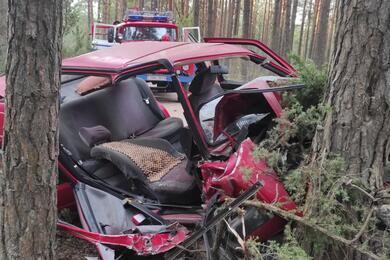 Легковушка влетела вдерево вСтолбцовском районе— пострадала пассажирка
