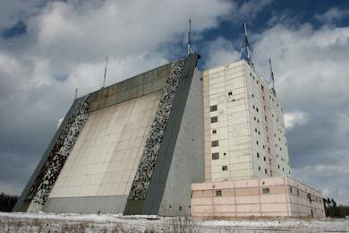 Радиолокационная станция «Волга» в Минской области. Фото: vpk-news.ru.