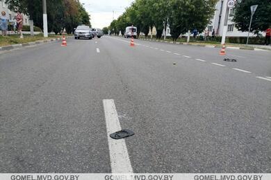 В Жлобине Skoda сбила 10-летнюю девочку, которая перебегала дорогу вне перехода