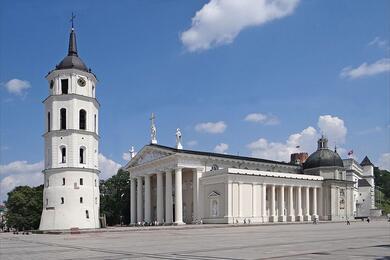 Вильнюс Кафедральный собор Святых Станислава и Владислава. Фото: wikipedia.org