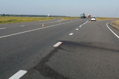 В Пинском районе водитель насмерть сбил женщину искрылся сместа ДТП