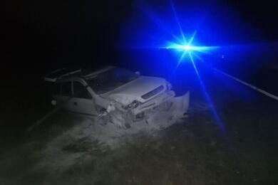 В Дрогичинском районе Opel влетел внеобозначенную гужевую повозку