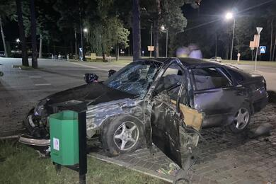 В Борисове Citroen непропустил Mazda— пострадали три человека