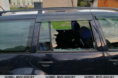 В Чечерске лицеист стрельнул поавтомобилю изпневматического пистолета