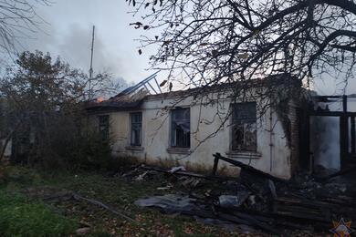 При пожаре вГомельском районе погибли три человека