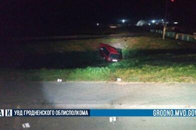 Под Гродно водитель сдесятидневным стажем устроил ДТП— пострадали пять человек