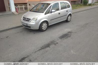 В Гомеле Opel сбил двухлетнего ребенка