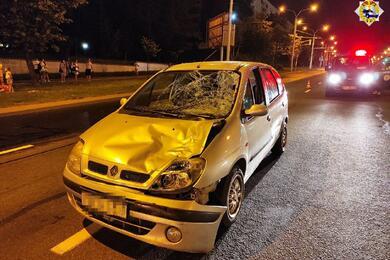 В Минске Renault сбил двух женщин: одна погибла, вторая— вбольнице