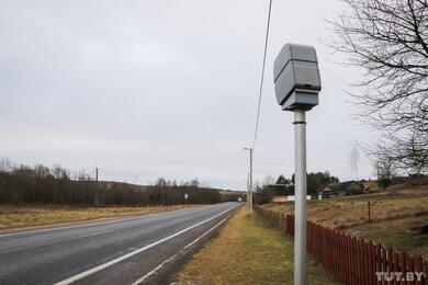В Столбцовском районе неизвестные сожгли камеры контроля скорости