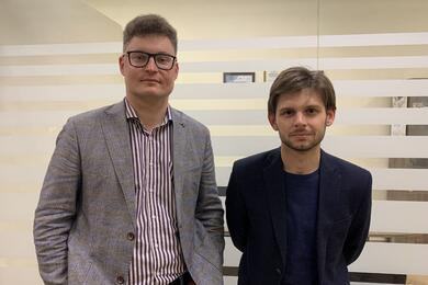 Дмитрий Лаевский и Евгений Пыльченко. Фото из телеграм-канала Дмитрия Лаевского