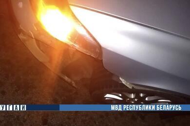 Автомобиль сбил пешехода вСмолевичском районе