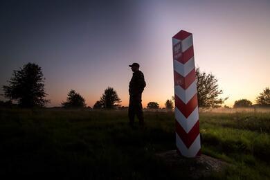 Фото: пограничная служба Польши