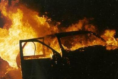 В Узде натерритории мехдвора горели два трактора