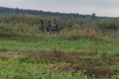 Фото: пограничная служба Литвы