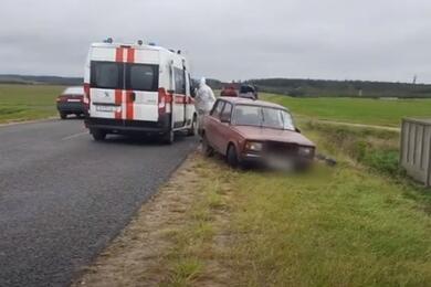 Велосипедист погиб под колесами «жигулей» вЛяховичском районе