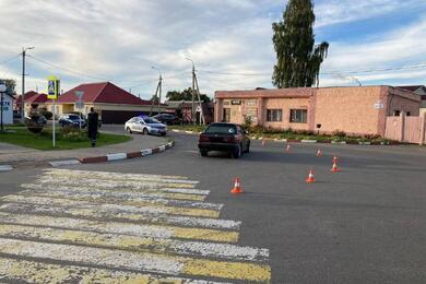 В Черикове женщина наBMW сбила 8-летнюю девочку