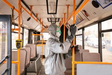 Водители автобусов итроллейбусов вБресте непоедут, если всалоне есть хоть один пассажир без маски