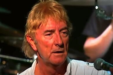 Джон Лоутон. Скриншот выступления Uriah Heep на Youtube