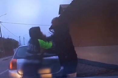В Вороново водитель непропустил пешехода, апосле напал насотрудника ГАИ