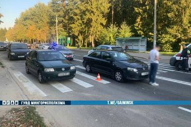 В Минске напереходе легковушка сбила девушку