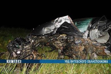 В Бешенковичском районе лоб влоб столкнулись Mazda иVW— пострадали оба водителя