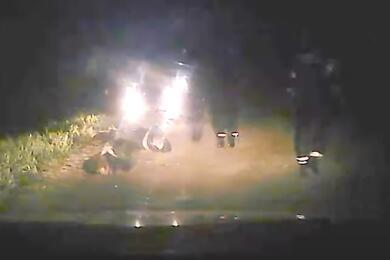 В Малоритском районе сострельбой задерживали пьяного водителя