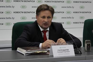 Геннадий Господарик. Фото: пресс-центр БЕЛТА