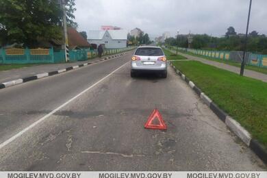 В Костюковичах 9-летняя девочка попала под колеса Volkswagen