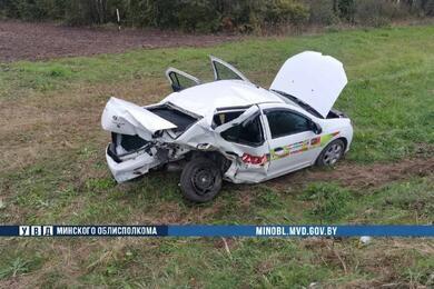 В Смолевичском районе Renault врезался вBMW— пострадали два человека