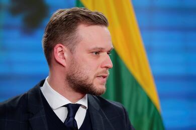 Глава МИД Литвы Габриэлюс Ландсбергис. Фото: Reuters