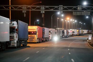 На границе Беларуси сЛитвой 18сентября небудут оформлять транспорт