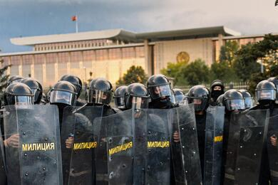 Минчанин решил поговорить наЗыбицкой сомоновцем. Три часа спустя суд назначил ему 15 суток ареста