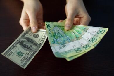 На торгах 17августа курсы доллара иевро укрепились