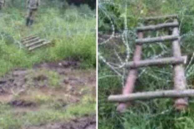 Польский министр опубликовал фото «моста» награнице сБеларусью