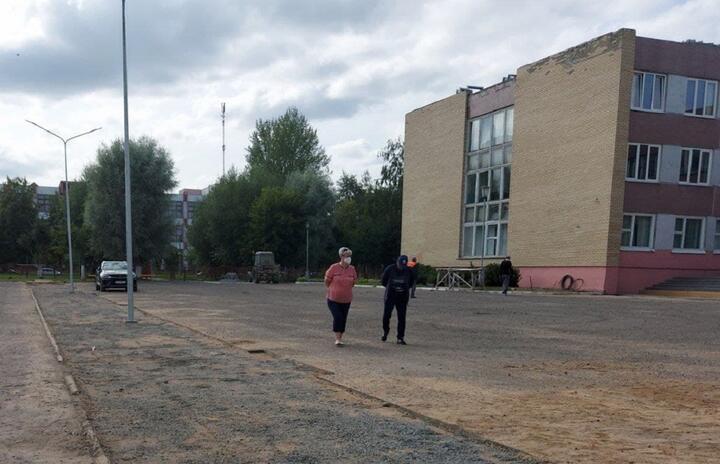 Школа №16, Лида. Фото: t.me/LidaMedia