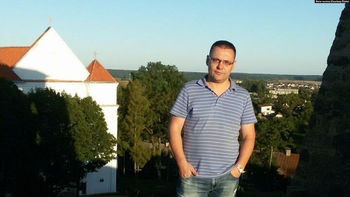 """Павел Петровский. Фото: Белорусская служба """"Радио Свобода"""""""