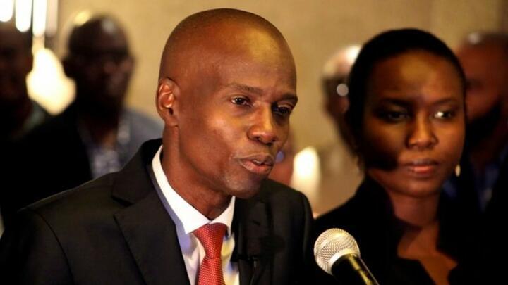 Президент Гаити Жовенель Моиз, который погиб в результате покушения. Фото: Reuters