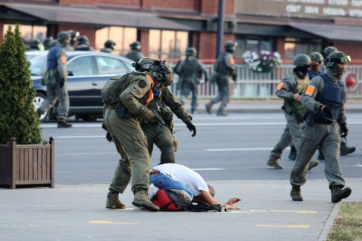 Минск, 10 августа 2020-го