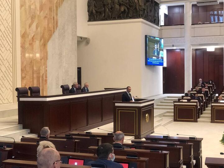 Фото: пресс-служба парламента Беларуси
