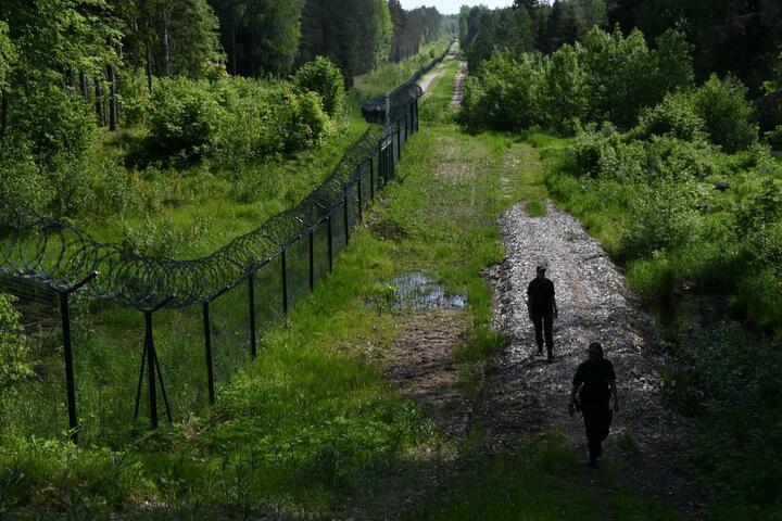 Фото: Государственная пограничная охрана Латвии