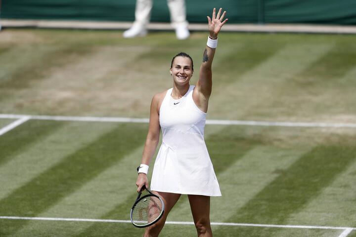Арина Соболенко. Фото: tennis.by