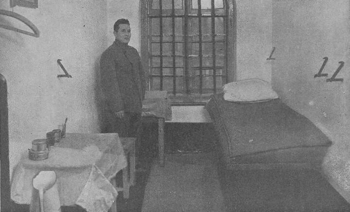 Камера в одной из польских тюрем. Фото: wielkahistoria.pl